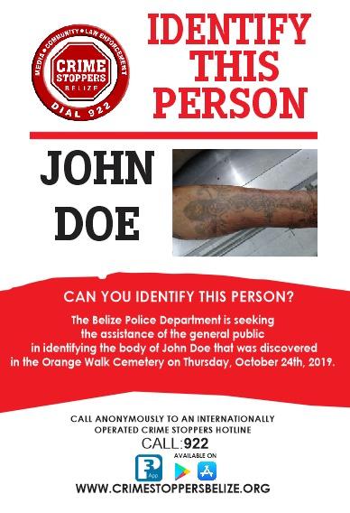 Help identify John Doe