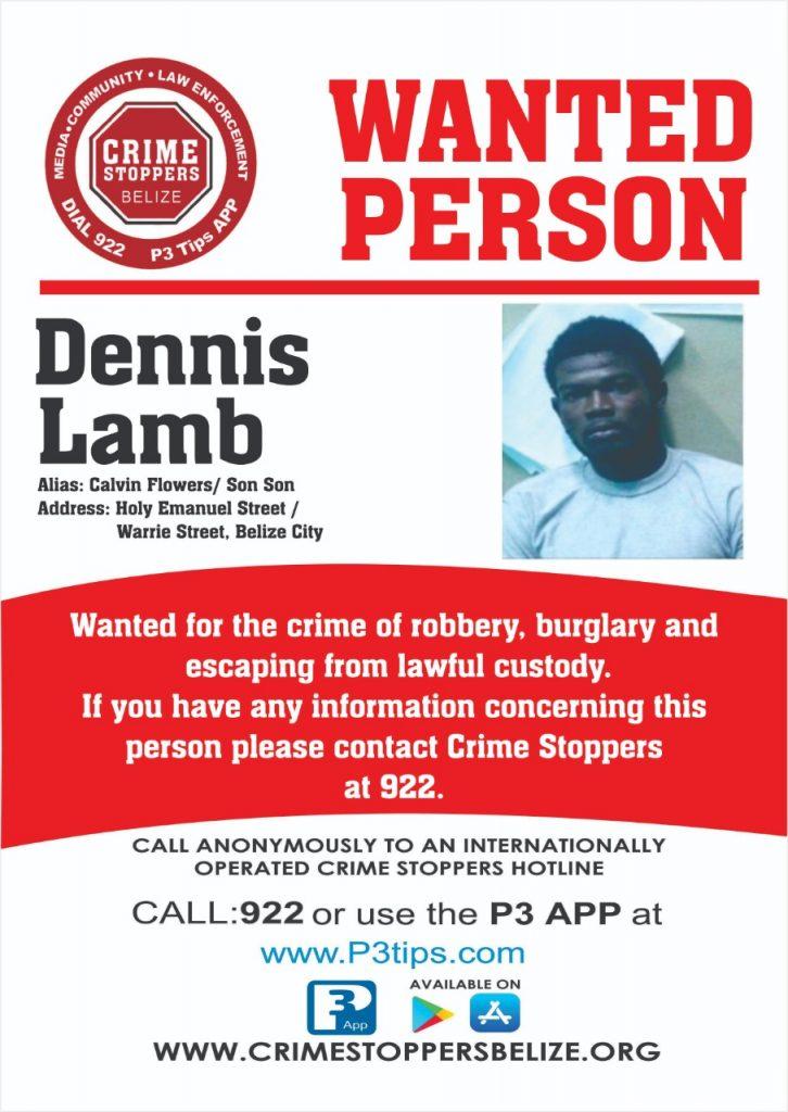 WANTED: Dennis Lamb