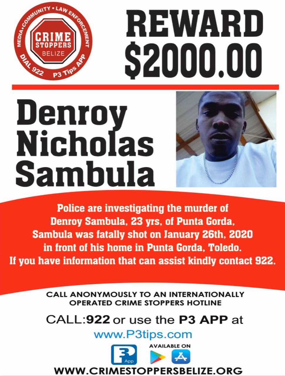 Denroy Nicholas Sambula