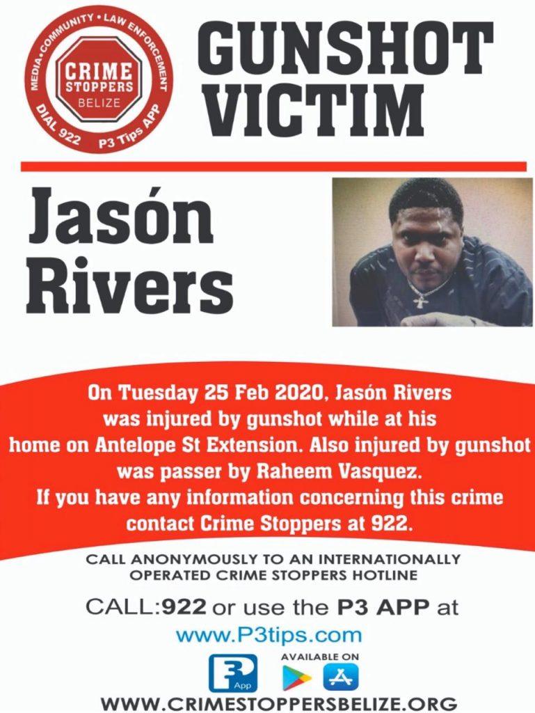 VICTIM: Jason Rivers