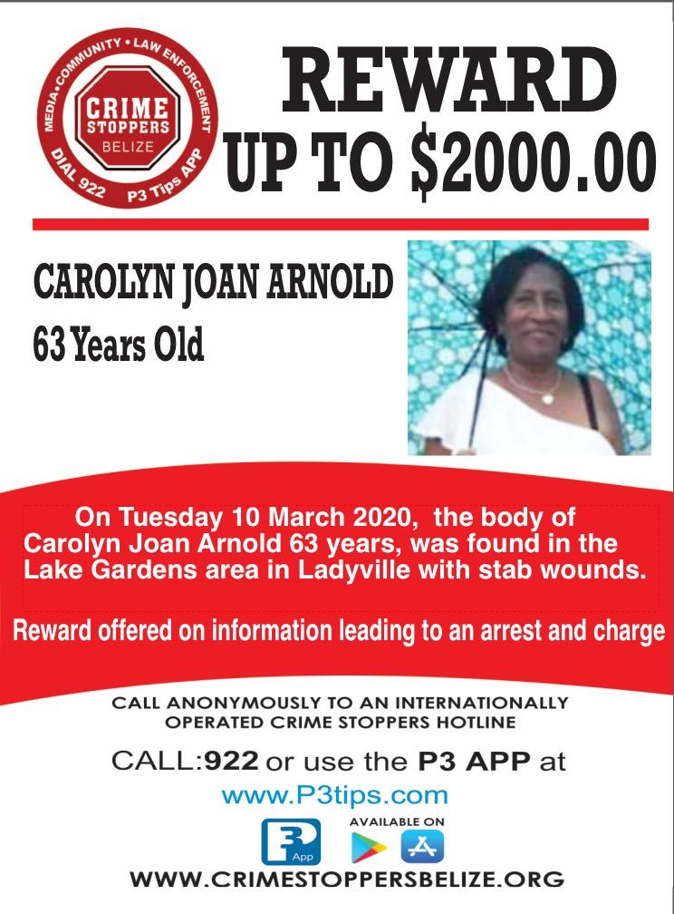 Carolyn Joan Arnold