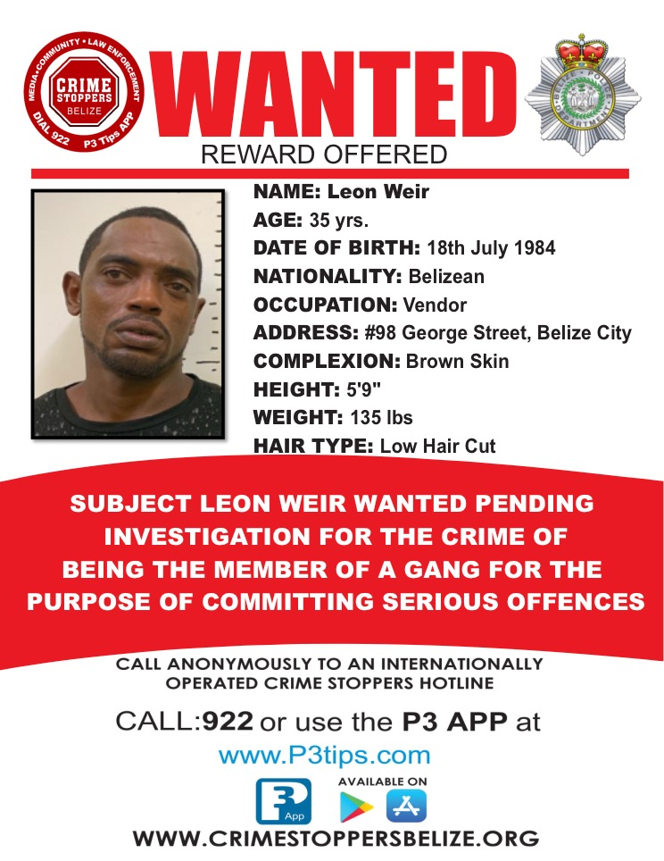 WANTED: Leon Weir